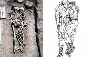 Bí mật giật mình về cặp đôi 'tình tứ trong cổ mộ' 3.000 năm trước