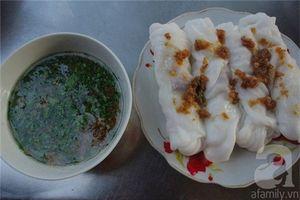 Thưởng thức bánh cuốn xứ Lạng