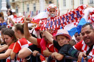 Người Croatia mở hội ăn mừng ngôi á quân World Cup 2018
