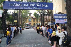 Điểm sàn các ngành sư phạm của đại học Sài Gòn là 18