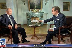 Tổng thống Putin nổi giận với người dẫn chương trình của Fox News