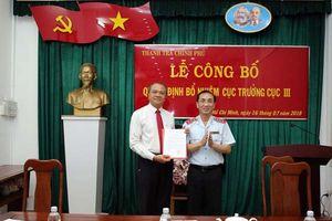Ông Trần Văn Mây làm Cục trưởng Cục III