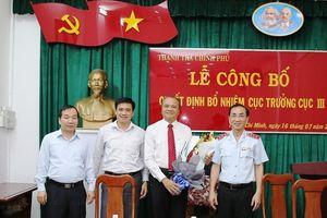 Bổ nhiệm ông Trần Văn Mây giữ chức Cục trưởng Cục Thanh tra, Giải quyết khiếu nại, tố cáo khu vực 3