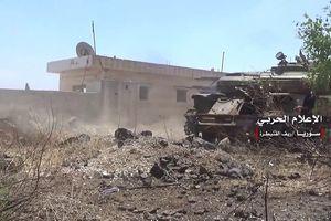 Quân đội Syria xung trận chiếm thị trấn thánh chiến ở tỉnh Al-Quneitra, gần cao nguyên Golan