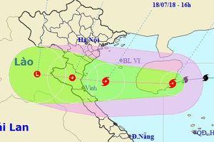 Chiều tối nay bão số 3 đổ bộ Nghệ An - Hà Tĩnh