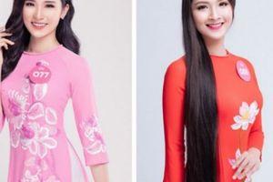 Người đẹp Hoa hậu Việt Nam 2018 tung ảnh áo dài đẹp dịu dàng