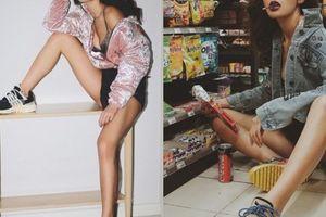 Bộ sưu tập giày sneaker đồ sộ cả trăm triệu đồng của 'bom sex' Minh Tú