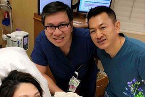 Ca sĩ Thanh Thảo sinh con gái đầu lòng tại Mỹ