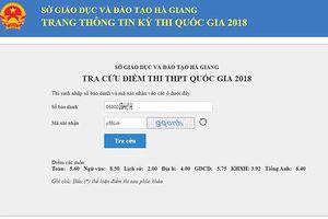 Thí sinh Hà Giang có điểm cao trượt tốt nghiệp sau khi chấm thẩm định