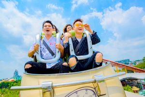 Giải nhiệt hè tại 'thiên đường' vui chơi - giải trí Suối Tiên