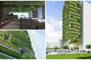 Đẹp hút mắt khách sạn bao phủ cây xanh ở Đà Nẵng