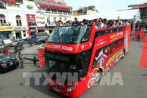 Xe buýt 2 tầng tại Hà Nội sẽ bắt đầu chạy tour đêm từ 1/8