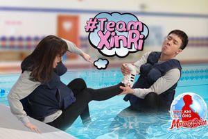 Khổ sở hơn cả Trường Giang, Trấn Thành 'bị câm' khi Hari Won gặp nạn giữa hồ bơi