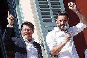 Thủ môn Lloris được vinh danh tại quê nhà Nice vì vô địch World Cup