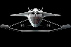 Ô tô bay Aston Martin Volante Vision Concept – Chiếc xe của tương lai