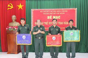 Chú trọng thúc đẩy huấn luyện, rèn luyện thể dục thể thao tại BĐBP TP Hồ Chí Minh