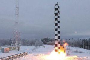 Quân đội Nga thử nghiệm tên lửa đạn đạo liên lục địa mới nhất Sarmat