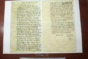 50 năm Chiến thắng Đồng Lộc: Nghẹn ngào trước bức thư gửi mẹ của Tiểu đội trưởng Võ Thị Tần