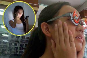 Ngày càng có nhiều người hỏng mắt vì đeo kính cận thị giả