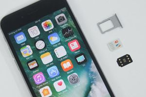 iPhone khóa mạng thành máy quốc tế, không cần SIM ghép ở VN