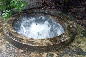 Giếng nước tự nhiên phun suốt năm ở đảo Phú Quốc