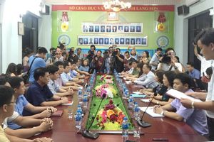 Nhiều bài thi môn Ngữ văn tại Lạng Sơn bị sụt giảm điểm sau khi chấm thẩm định