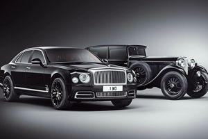Bentley Mulsanne W.O Edition bản kỷ niệm 100 năm thành lập hãng