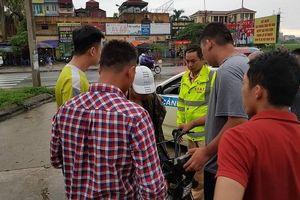Đi xe đạp điện giao ma túy thuê, nam sinh bị CSGT Hà Nội tóm gọn