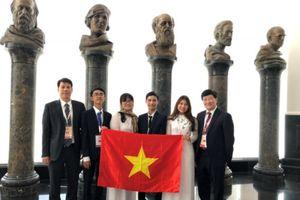 Việt Nam giành 3 huy chương vàng tại Olympic Sinh học quốc tế 2018