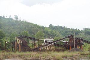 Ngổn ngang hậu dự án Nhà máy tuyển quặng sắt trăm tỷ đồng