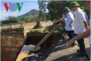 Hình ảnh Phú Thọ tan hoang do bão số 3 gây ra