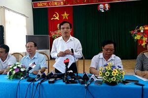 Kết luận về nghi vấn điểm thi tại Sơn La là 'Vi phạm nghiêm trọng'