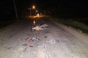 Truy tìm tài xế xe tải bỏ chạy sau tai nạn chết người