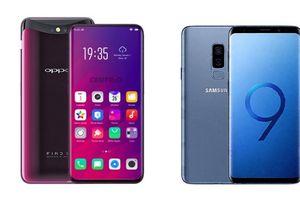 Oppo Find X liệu có hơn đứt Samsung Galaxy S9 Plus?