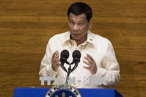 Tổng thống Philippines Rodrigo Duterte trình bày bản thông điệp quốc gia