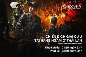 Công chiếu bộ phim tài liệu về chiến dịch giải cứu đội bóng Thái Lan
