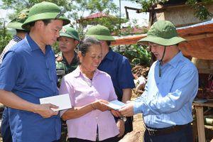 Trung ương MTTQ hỗ trợ Yên Bái 1 tỷ đồng khắc phục hậu quả bão lũ
