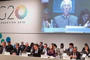Các nước nhóm G20 kêu gọi đàm phán trước nguy cơ chiến tranh thương mại