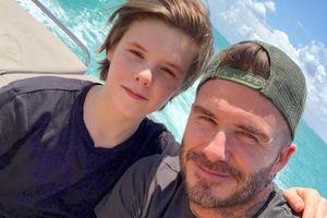 Quý tử nhà Beckham: Gây tranh cãi vẫn được gọi 'Justin Bieber thứ 2'