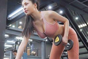 Giữa ồn ào nâng cấp vòng 1, Trâm Anh tung clip tập luyện cật lực chứng minh 'ngực xịn'