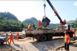 Yên Bái khắc phục lưới điện sau mưa lũ