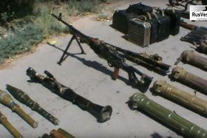 Quân đội Syria chiếm kho vũ khí thánh chiến lớn ở bắc tỉnh Homs