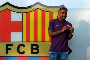 Barca chính thức hoàn tất thương vụ 'cướp' Malcom từ tay Roma