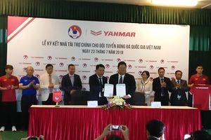 Ký kết Nhà tài trợ chính cho Đội tuyển Bóng đá Quốc gia Việt Nam