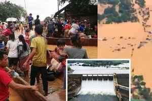 Tin mới nhất vụ vỡ đập thủy điện ở Lào