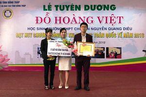 Đồng Tháp thưởng lớn cho học sinh Olympic quốc tế