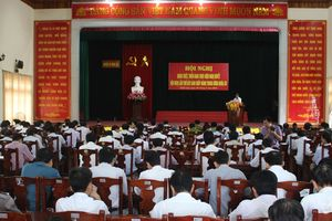 Nghi Lộc: Học tập, quán triệt, triển khai thực hiện Nghị quyết Trung ương 7 (khóa XII)