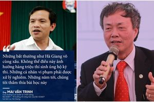 Nguyên Bộ trưởng Bộ GD&ĐT cùng các chuyên gia đầu ngành nói gì về sai phạm điểm thi chấn động ở Sơn La, Hà Giang?