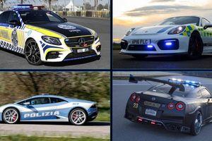 Top 10 xe cảnh sát đẹp nhất thế giới, xe số 4 quá 'chất'