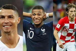 10 ứng viên 'The Best' 2018: Ronaldo cạnh tranh với Modric và Mbappe